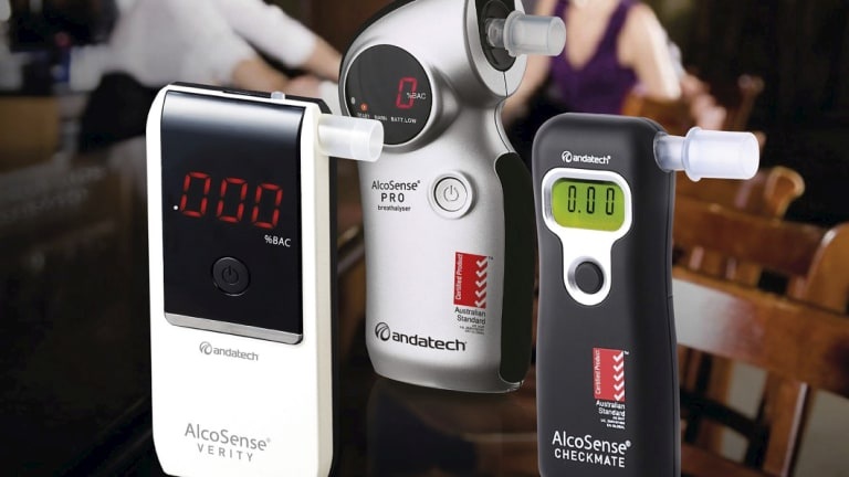The AlcoSense personal breathalyser seemed fairly accurate when we road-tested it.