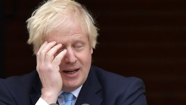 It has been a long week for British PM Boris Johnson.