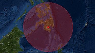Strong, shallow earthquake hits Philippines' island of Mindanao
