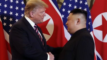 President Donald Trump meets North Korean leader Kim Jong Un. Might they meet in Stockholm for the Nobel Peace Prize?