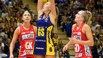 Lightning strike again as Swifts fall to Sunshine Coast home-court curse