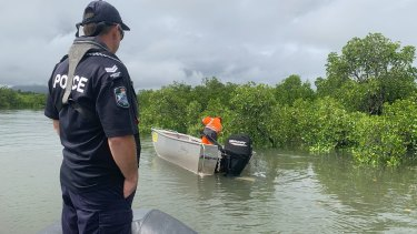 Local fishermen have also joined the search for the 69-year-old.