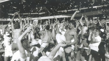 Bay 13 was the place to be during a one-day international in 1988