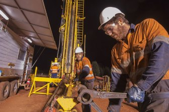 """""""All our drill rigs are busy… there is no spare capacity as we sit here today,"""" says DDh1 chief executive Sy Van Dyk."""