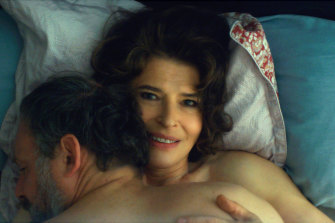 Marianne (Fanny Ardant) character has decided it is time to move on from a long marriage.