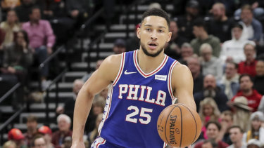 online retailer 198c5 39689 Ben Simmons' call to skip World Cup adds issues to ...