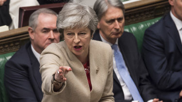 Theresa May speaks to Parliament after her Brexit divorce deal was rejected for the third time.