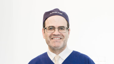 Cosmetic surgeon Daniel Lanzer