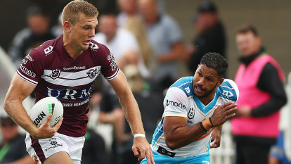 Turbo injection fires Sea Eagles to crushing defeat of Titans