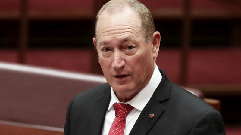Fraser Anning Photo: Fraser Anning's: Testing The Claims In The Senator's First