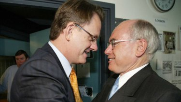 """Labor has labelled Scott Morrison's actions as his """"Mark Latham moment"""", in reference to an aggressive handshake with John Howard in the 2004 election campaign."""