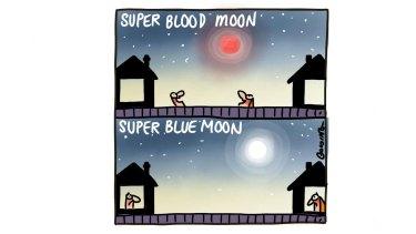 Super Blood Moon, Super Blue Moon