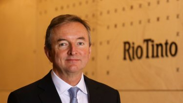 Forget coal: Rio Tinto chairman Simon Thompson.