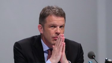 Christian Sewing, chief executive officer of Deutsche Bank.