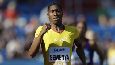 Caster Semenya will compete in the 3000m in California.