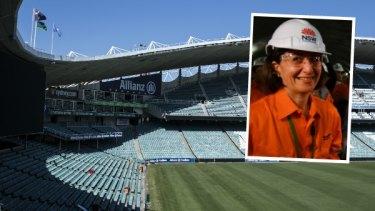 Allianz Stadium and  Premier Gladys Berejiklian.