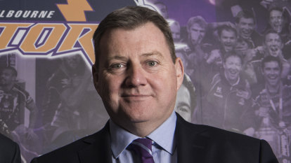 Bart and soul: Storm owner Bart Campbell returns to his rugby roots
