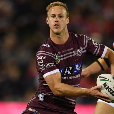 Daly Cherry-Evans was convinced to stay at the Sea Eagles.