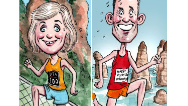 Zali Steggall and Andrew Leigh.