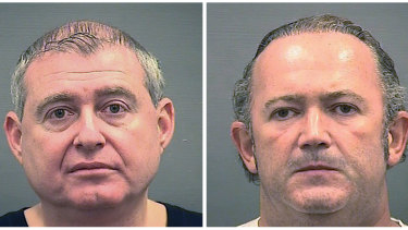 Lev Parnas, left, and Igor Fruman are scheduled to go to trial on October.