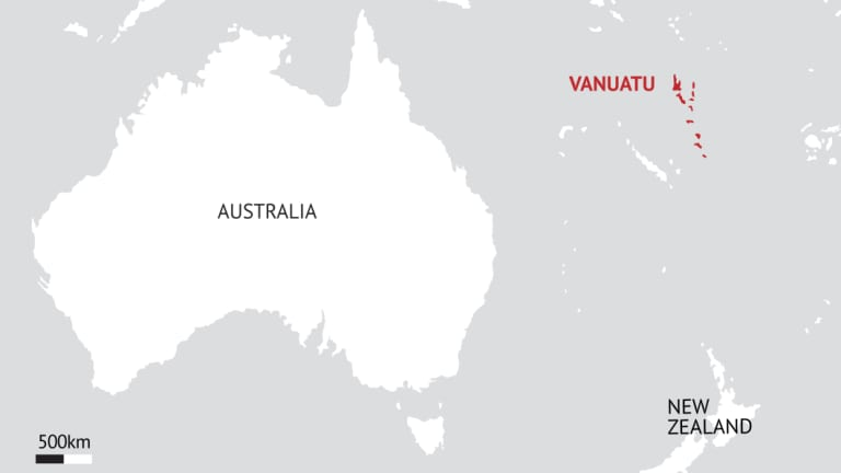 China is eyeing Vanuatu as a possible military base location.