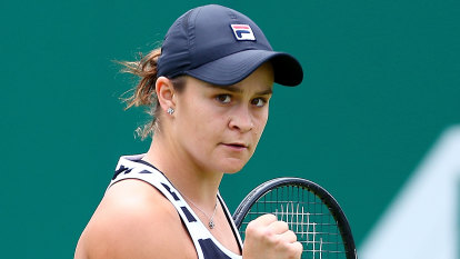 Barty unfazed by the pressure of trying to end long Open drought