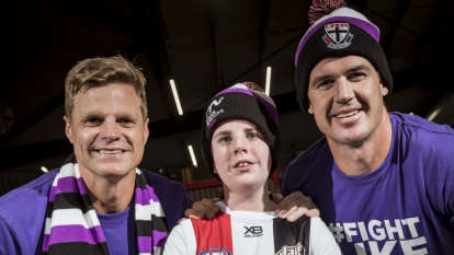 'It's not acceptable': Nick Riewoldt vows to find cure for bone marrow disease