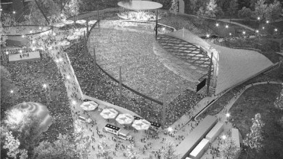Music Bowl lawn gets 'sunroof' in major renovation plan