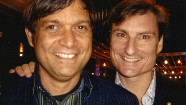 Wesley Enoch and McAllister at the 2008 Australian Dance Awards.