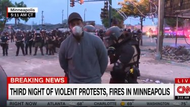 Minneapolis state police arrested reporter Omar Jimenez while he was live on air.