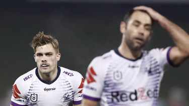 Ryan Papenhuyzen and Cameron Smith could be forced to play upcoming matches in NSW.