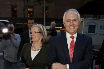 Malcolm and Lucy Turnbull have been announced as investors in Mark43, a company providing tech for police forces.