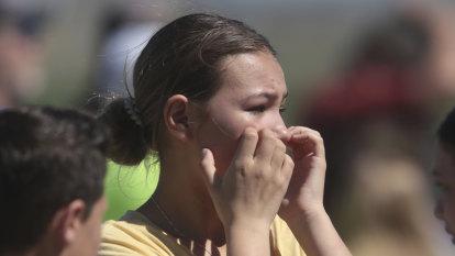 Girl shoots three at US school, teacher disarms her