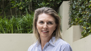 """Rachel Bondi, chief partner officer of Microsoft Australia, described a new """"returnship"""" program, for which the company is seeking partners. It will provide a six-month vocational education course in either cloud computing, cyber or data analytics, with employment opportunities during the training period and after graduation."""