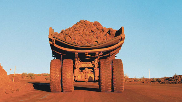 Worker dies at Rio Tinto mine site after haul truck veers off road
