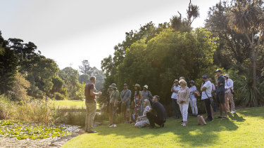 'Watering the Gardens' tours will be held at the Royal Botanic Gardens as part of Melbourne Design Week
