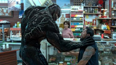 <i>Venom</I> proves perfect for 4DX.