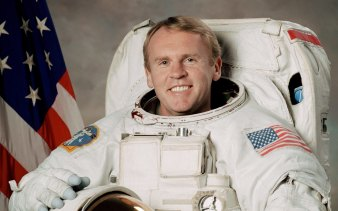 Dr Andy Thomas, Australia's most accomplished astronaut.