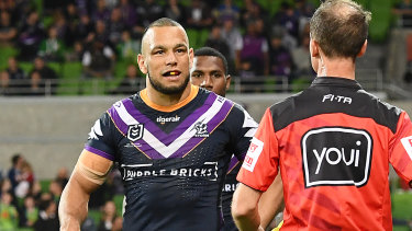 Will Chambers could be thrown straight into the Sharks' side for the clash against Canterbury.