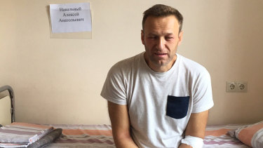 Alexei Navalny, Russia's most prominent opposition figure, was admitted to a hospital in Moscow in July for a suspected poison attack.