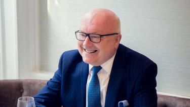 Australia's High Commissioner to the UK George Brandis.