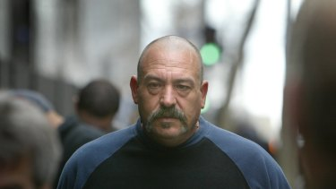 Joe Barbaro leaves court in 2004.
