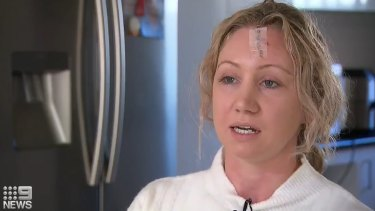 Nurse Bec Davis was allegedly attacked by a 26-year-old Winston Hills man who was receiving treatment at Westmead Hospital.