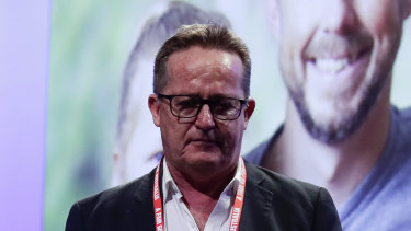 """Tony Maher, head of the CFMMEU's mining and energy division, says the union has """"become impossibly divided and dysfunctional with no repair in sight""""."""