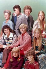 The way we were: the Brady family from the original Brady Bunch series.