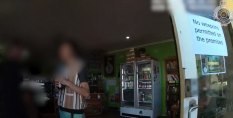 Fines were issued and an arrest was made at a Coolum cafe after failing to wear masks.