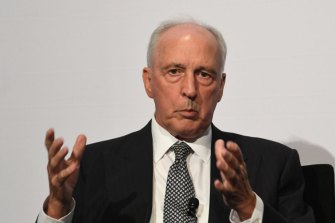Paul Keating has weighed into the super debate.