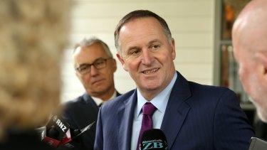 Former New Zealand prime minister John Key.