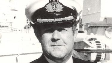 Captain Ian Pullar.