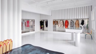 Sibling Architecture's fitout of the do.Comme Collection store.t